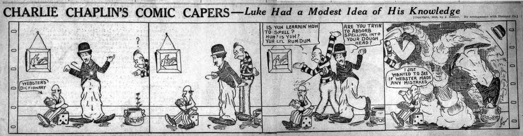 Le premier strip par E. C. Segar.