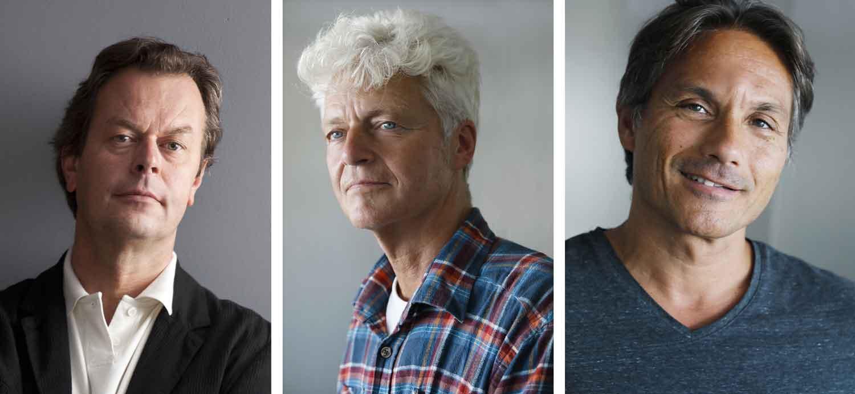 Yves Sente, Teun Berserik et Peter Van Dongen