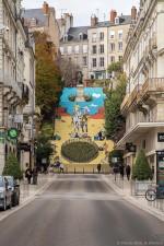 copyright Pierre Marie Jamet, concepteur de cette magnifique montée d'escalier et que nous remercions