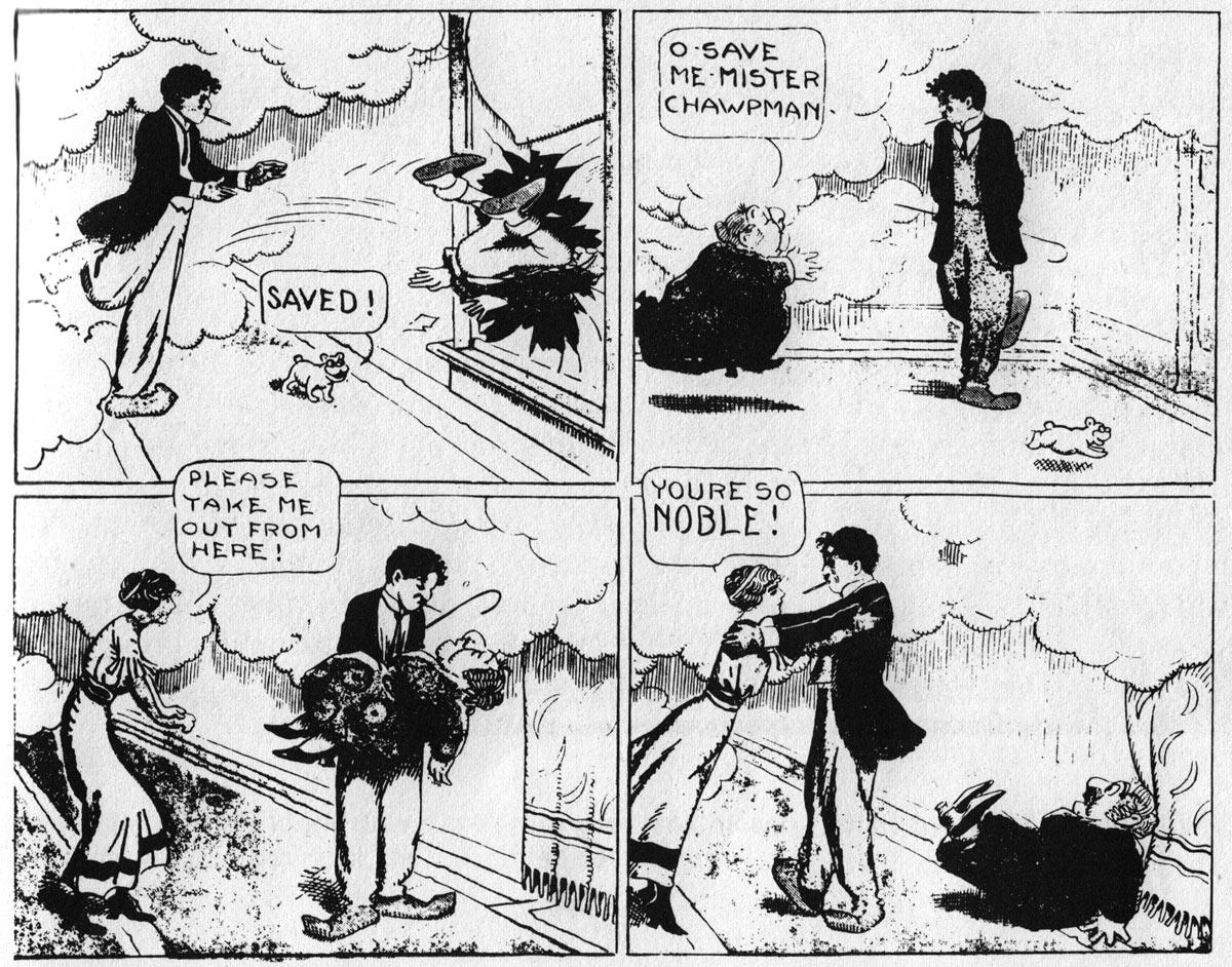 « Pa's (Imported) Son-in-Law » d'Ed Carey, en 1916.
