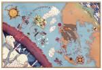Carte de la contre-odyssée de Télémaque