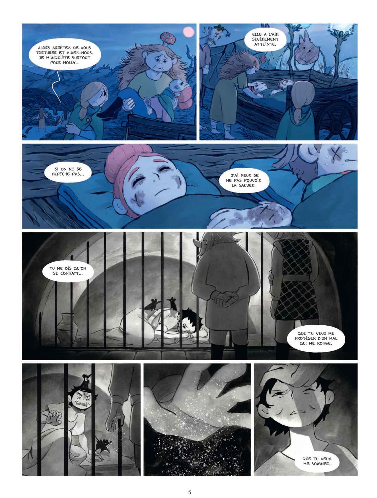 Bergères Guerrières T3 page 5
