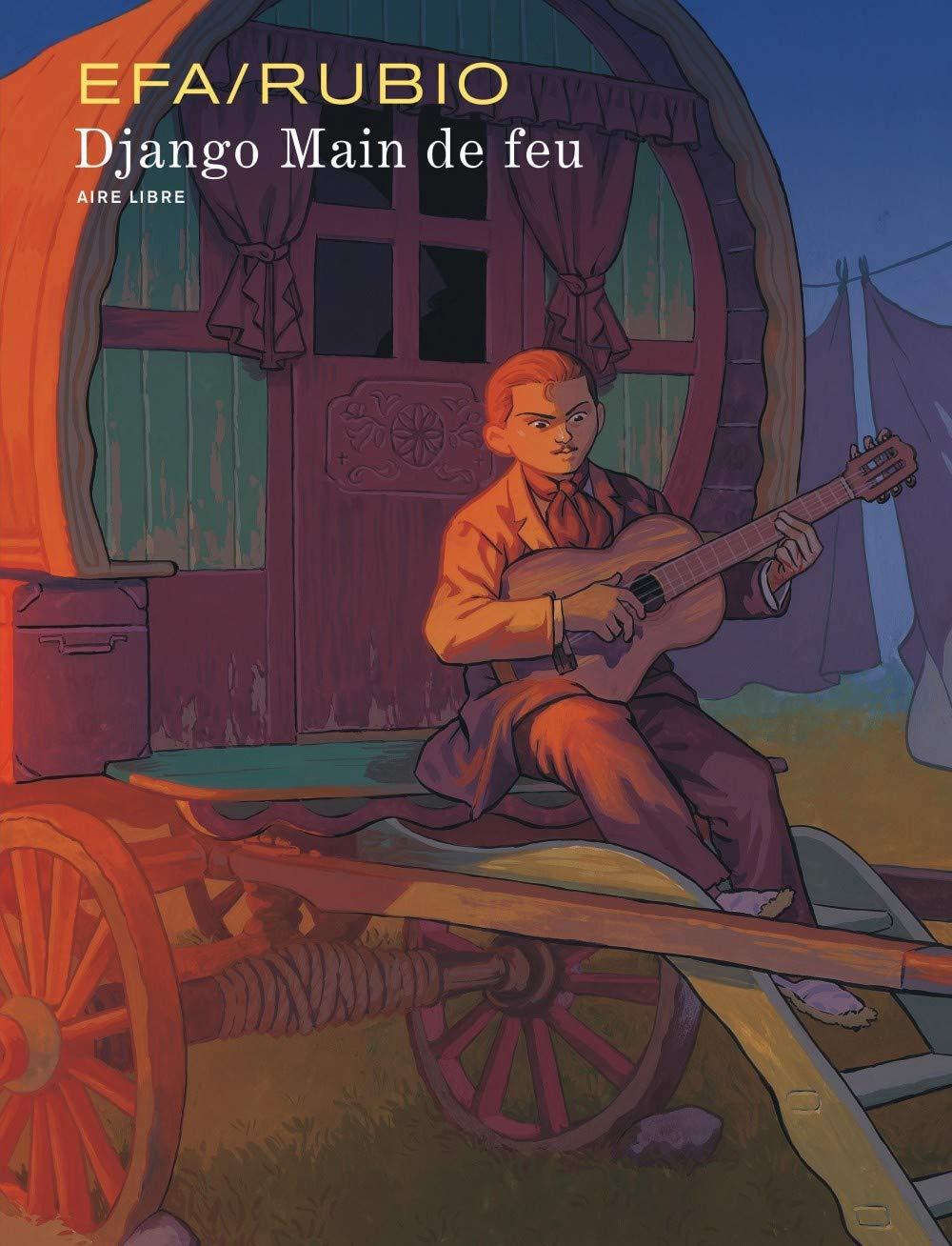 La balade de Django (couvertures classique et spéciale, pages 7 - 8 ; Dupuis 2020)