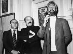 Jean Mardikian, Claude Moliterni et Francis Groux : les fondateurs du festival de la BD d'Angoulême.
