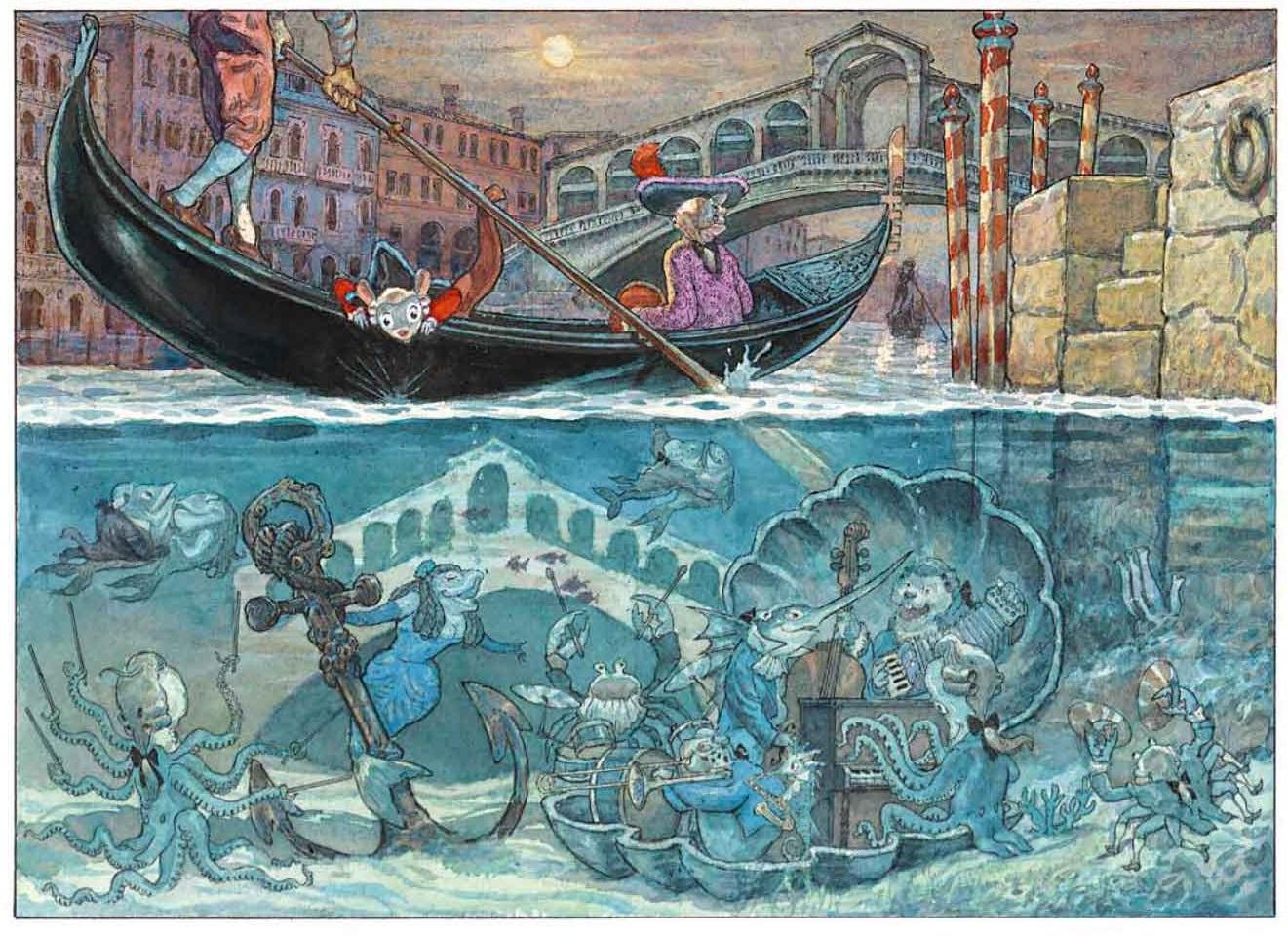 La vie musicale aquatique des canaux de Venise