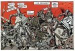 Un combat cruellement désarmant (extrait de la planche 40 - Dargaud 2019)