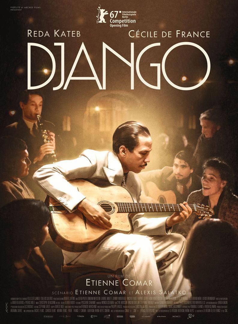 "Affiche du film ""Django"" (2016)"