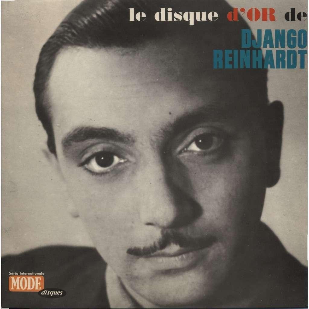 """Pochette du """"Disque d'or de Django Reinhardt"""" dans les années 1960."""