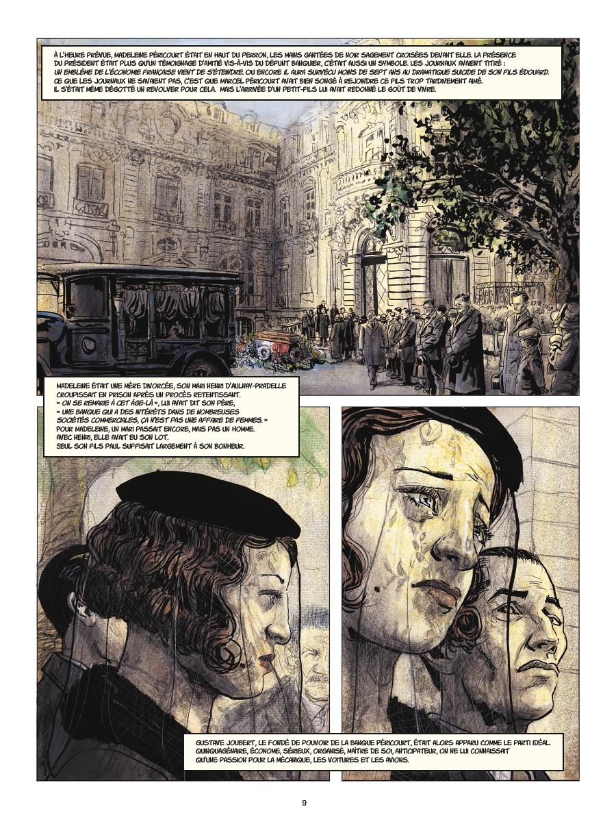 """Planches 1 et 2 pour """"Couleurs de l'incendie"""" (Rue de Sèvres - 2020)"""