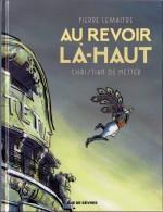 """Le saut de l'ange... Couverture pour """"Au revoir là-haut"""" (Rue de Sèvres 2015)"""