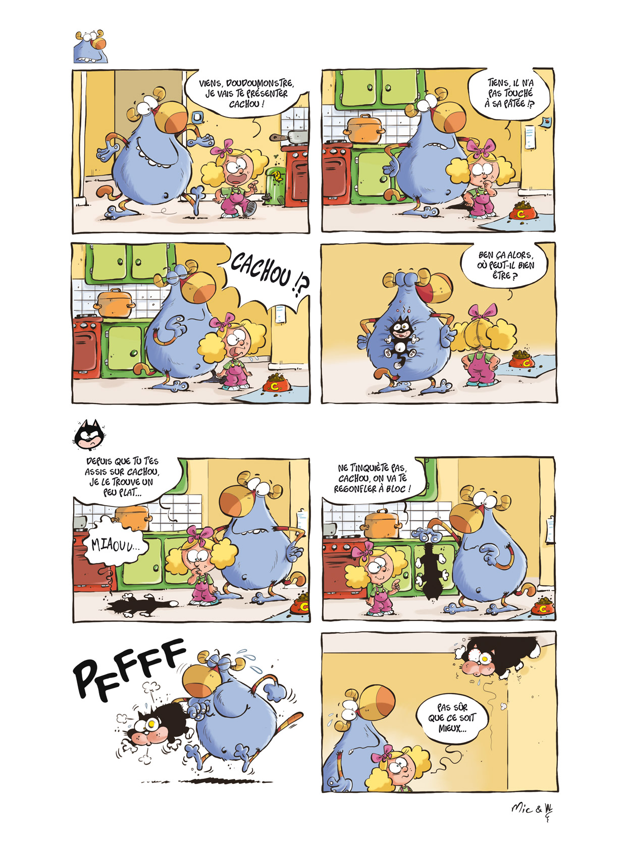 Lily et le doudou monstre page 5