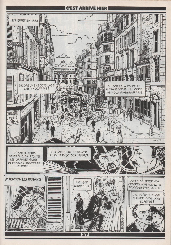 « Un monsieur nommé Poubelle », avec Serge Saint-Michel, dans le n° 297 d'Okapi..
