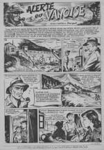 « Alerte en Vanoise », dans Lisette, en 1954 (n° 33).