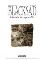 """Page de titre et couverture pour """"L'Histoire des aquarelles HS 1"""" (Dargaud, 2005)"""