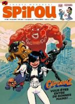 Les captainZ en couverture de Spirou n° 4118 (15 mars 2017)
