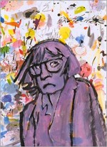 Autoportrait en couverture de « Moments de lassitude », en 1999.