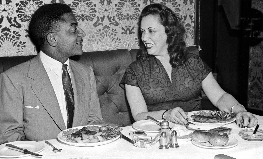 Nica et Teddy Wilson, Londres c. 1954
