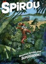 SuperGroom : une nouvelle aventure est en une de Spirou le 29 janvier 2020