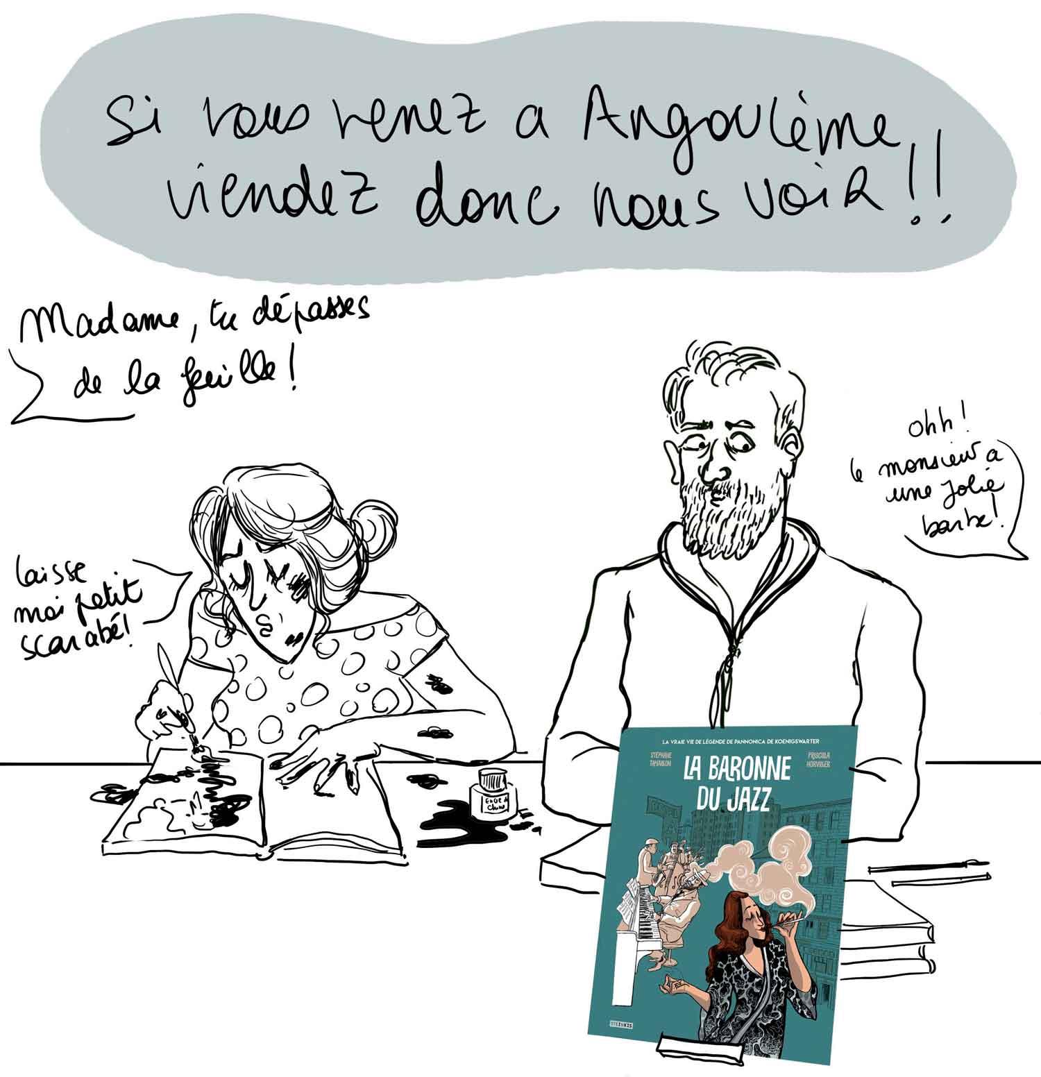 Priscilla Horviller et Stéphane Tamaillon