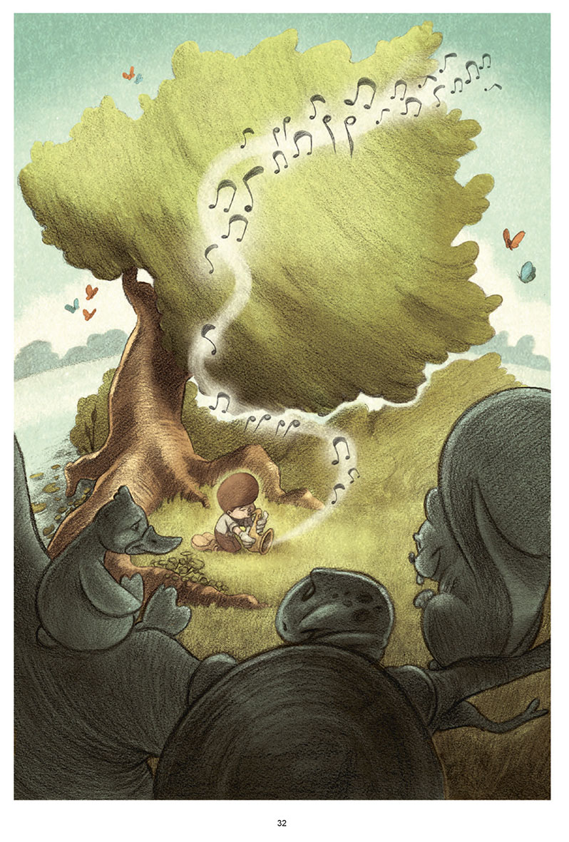 Billy, le saxophone et le chant du petit oiseau