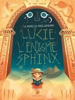 couv Lucie et l'enigme du sphinx
