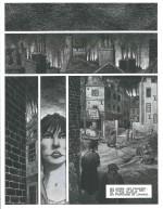 Deux pages du «Mary Jane» dessiné par Frank Le Gall, publiée dans le n° 2(6) de la revue L'Indispensable, en janvier 2012.