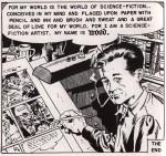 """Dernière case de l'histoire """"My world"""" parue dans Weird Science #22, en november 1953"""