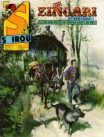 La réapparition des Zingari est actée, dans Spirou n° 2476 (24 septembre 1985) - une et première planche