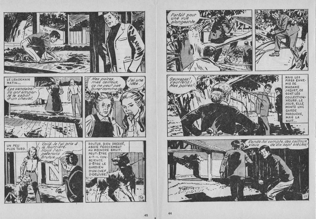 « Un sommeil de dix sept siècles » dans Lisette magazine n° 51 (2e trimestre 1968).