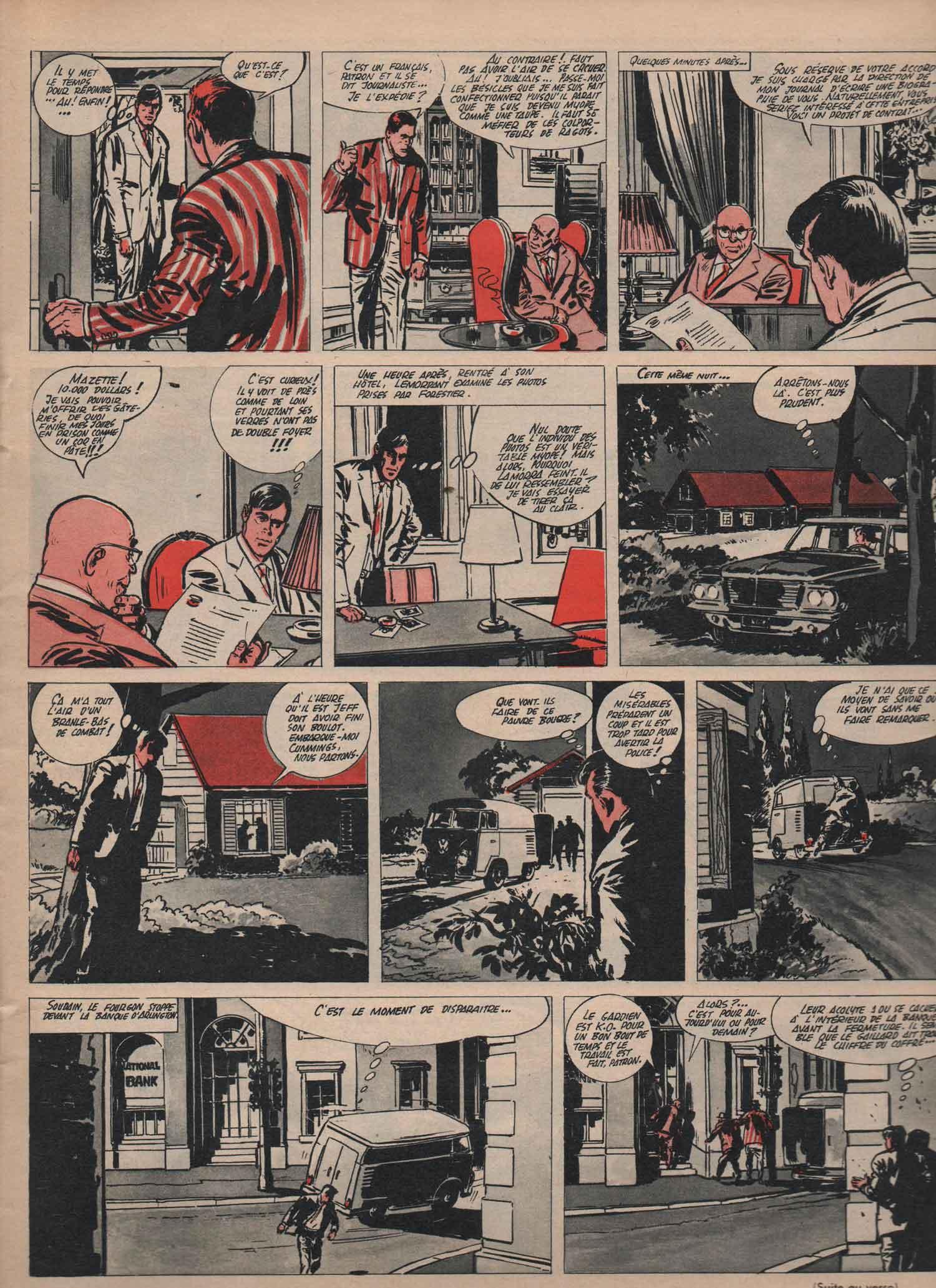 « Ralph Lemordant » dans Pilote n° 194 (11/07/1963).