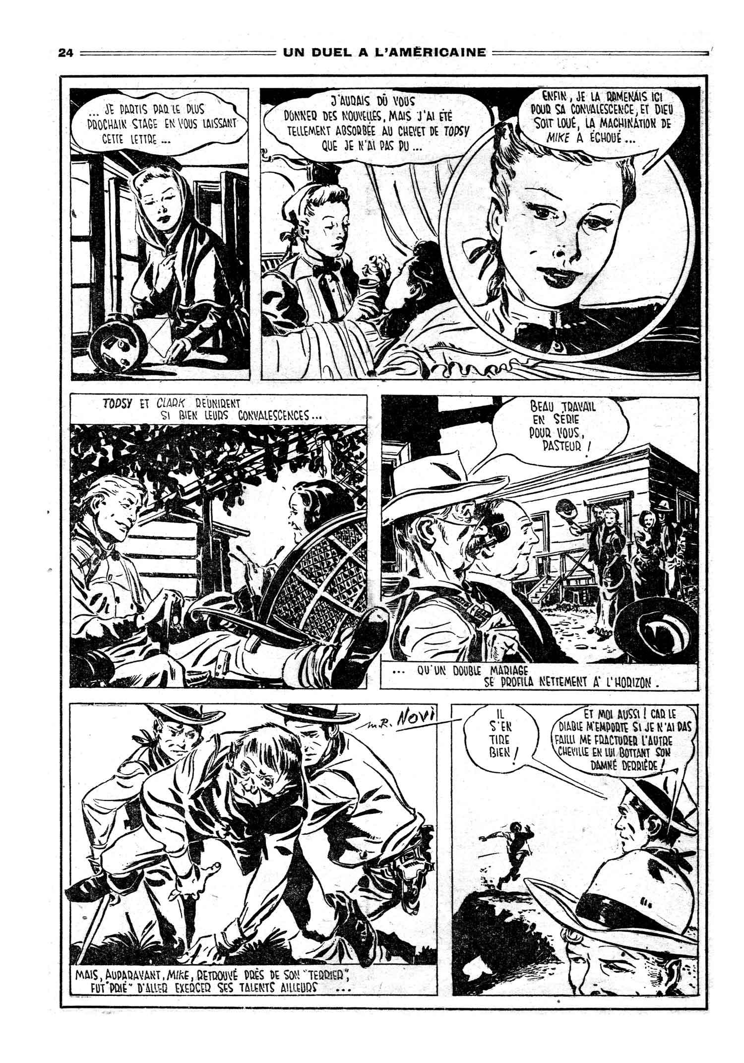 « Un Duel à l'américaine » dans Le Journal des Pieds nickelés n° 33.