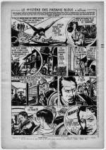 « Le Mystère des faisans bleus » dans L'Épatant n° 14 (19/07/1951).