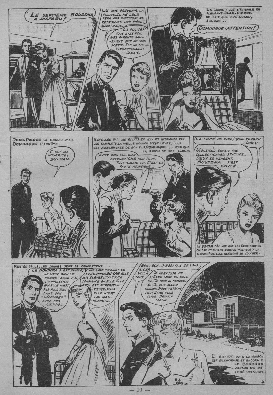 « Bouddha a disparu » dans Fillette spécial (05/1961).