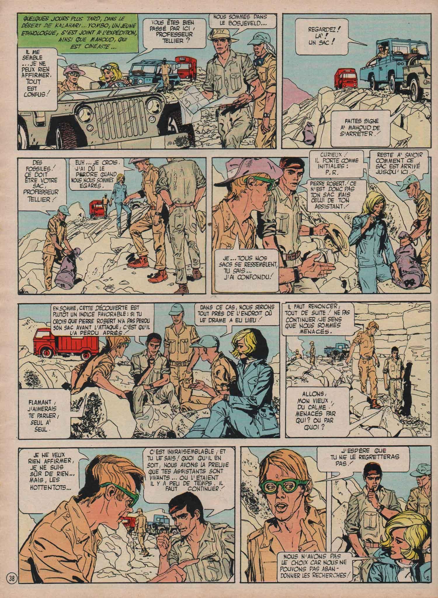 « Professeur Flamand » dans Le Journal de Mickey n° 1151 (07/07/1974).