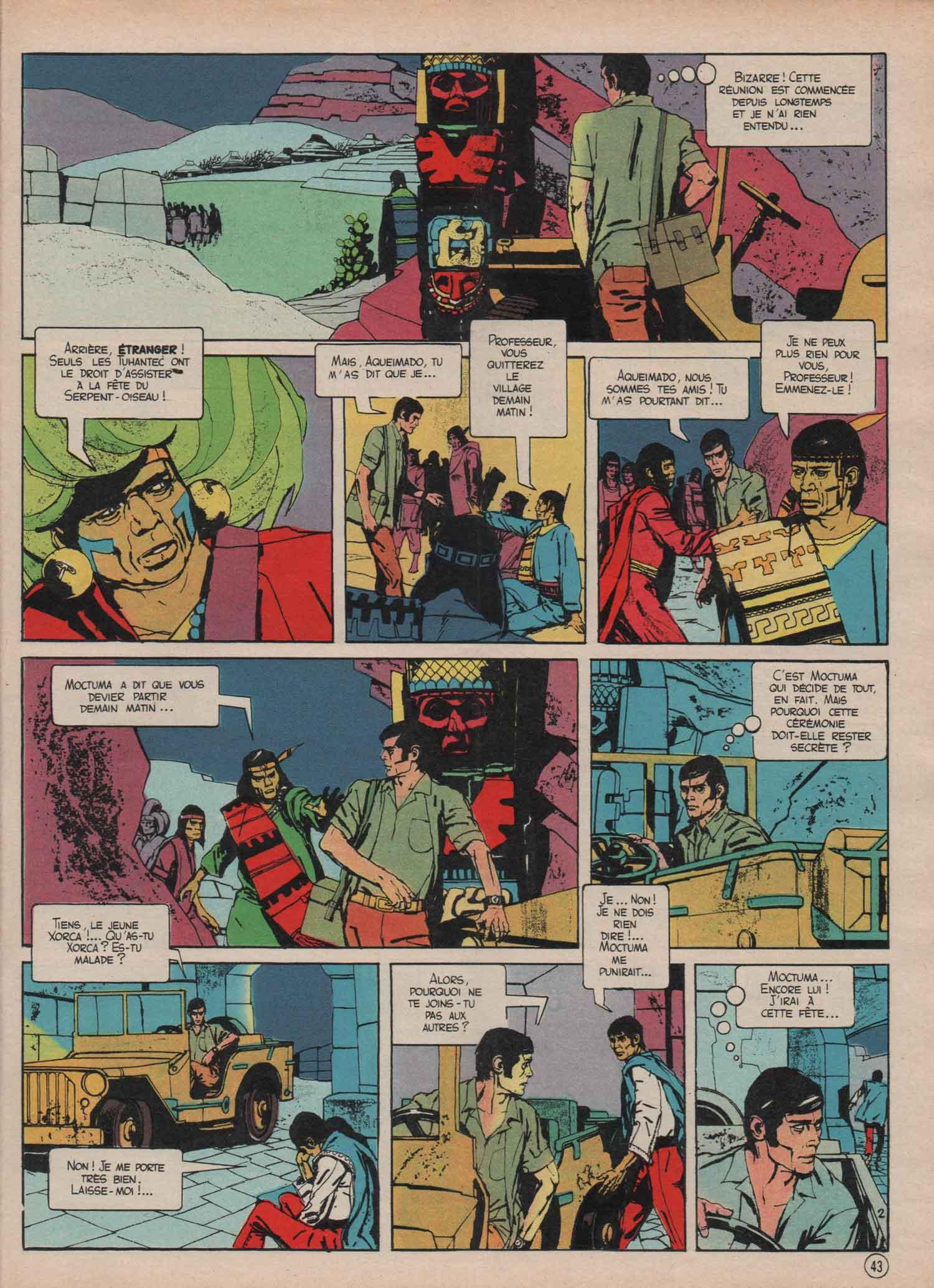 « Professeur Flamand » dans Le Journal de Mickey n° 1175 (12/12/74).