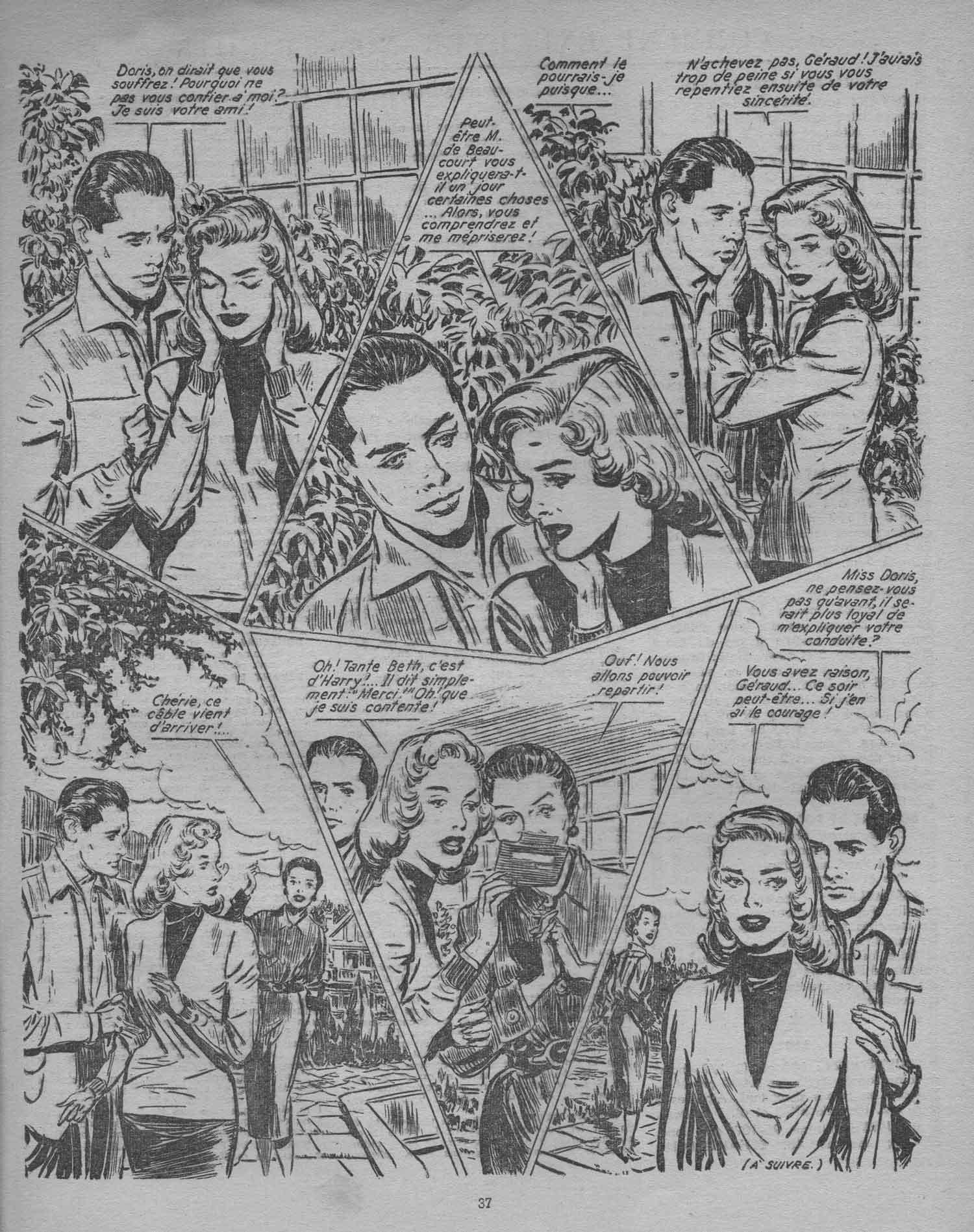 « Infidèle Doris » dans La Vie en fleur n° 205 (1er trimestre 1957).