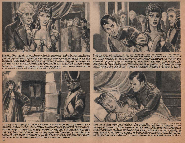 « Napoléon et Joséphine » dans Lui n° 4 (02/12/1959).