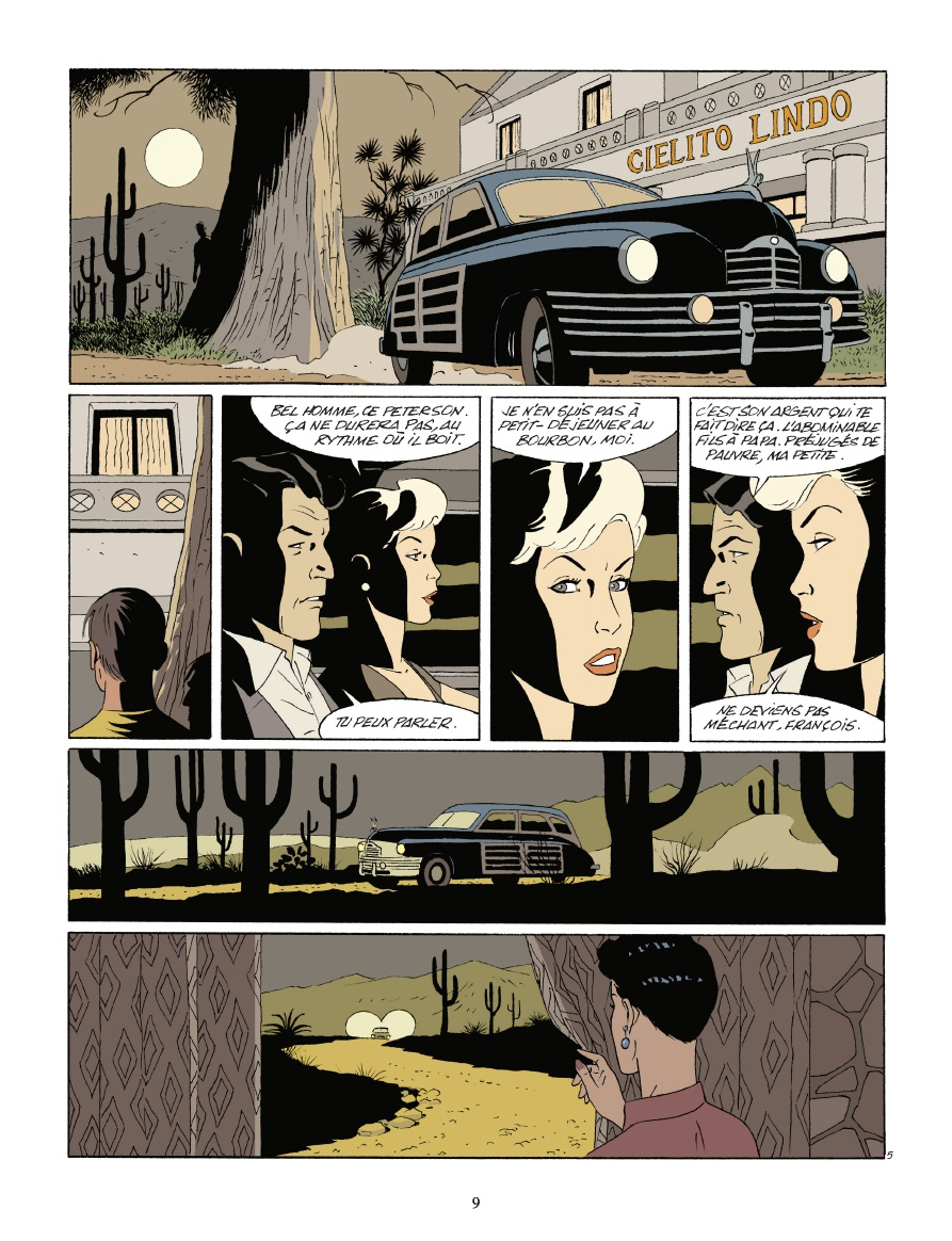 Un polar et un road movie ? (planche 3 - Dargaud 2020)