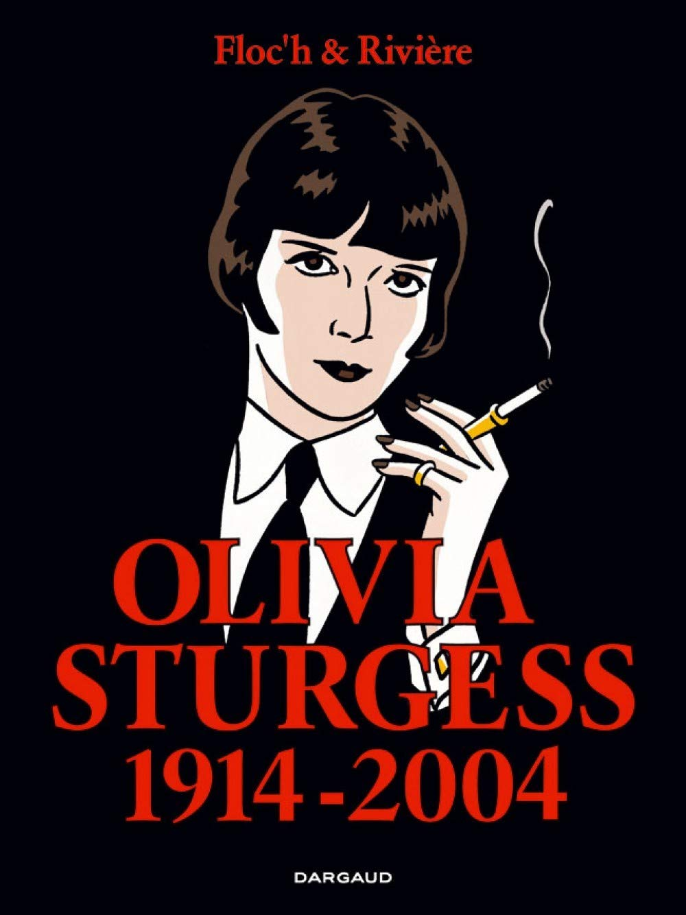 """Couverture et extrait d'""""Olivia Sturgess 1914-2004"""" (Dargaud 2005)"""