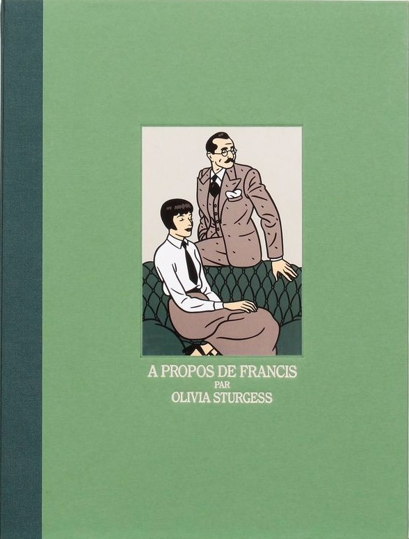 Couverture et extrait d'A propos de Francis (Dargaud 1992 - 2019)
