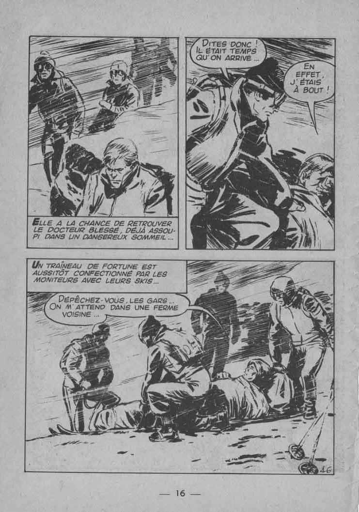 Josiane dans la tourmente » dans Frimousse n° 237 (02/1968).