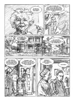 Crayonnés de Denis Rodier pour la page 245