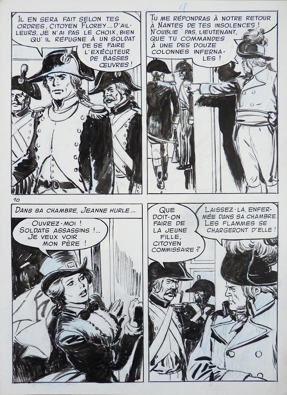Une planche originale, pas si moche que ça !, de « La Chouette » publiée dans Frimousse en 1969.