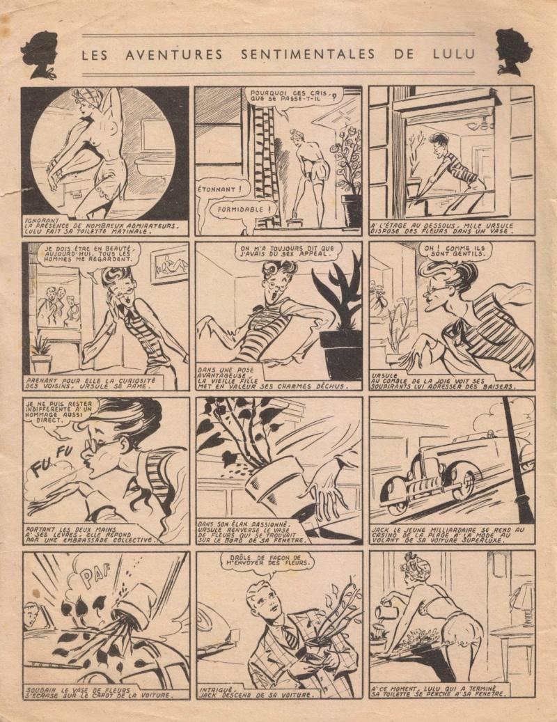Les Aventures sentimentales de Lulu n° 1 (03/1950).