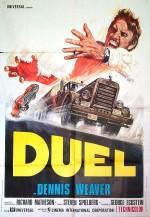 """Affiche pour """"Duel"""", téléfilm devenu film exploité en salles en 1972"""
