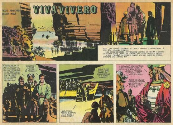 «Viva Vivero»  dans Chouchou, en 1964.
