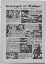"""«La Rescapée du""""Martinet""""» dans Bernadette n°484 (11/03/1956)."""