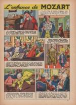 «L'Enfance de Mozart» dansBernadette n°9 (26/08/1956).