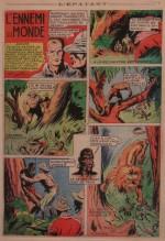 « L'Ennemi du monde » dans L'Épatant n° 65 (08/09/1938).
