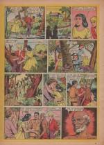 «Priscille et Olivier » dans Bernadette n°90 (16/03/1958).